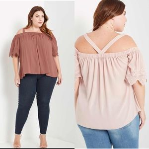 Tops - Off the Shoulder Top